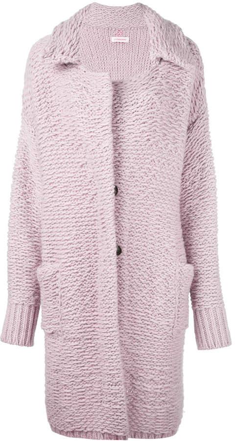 A.F.Vandevorst buttoned cardigan coat