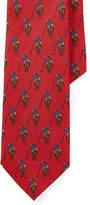 Polo Ralph Lauren Player–Print Silk Tie