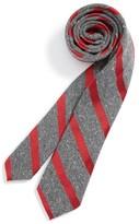 Nordstrom Boy's Stripe Woven Silk Tie
