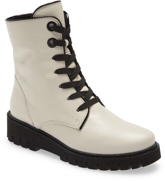 ara January Lug Sole Combat Boot