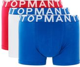 Topman Assorted Colour Trunks 3 Pack