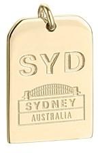 Jet Set Candy Syd Sydney Luggage Tag Charm