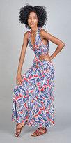 Rachel Pally Long Criss-Cross Back Selena Dresses