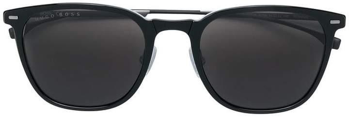 HUGO BOSS square frame sunglasses