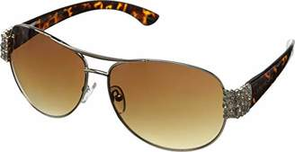 Betsey Johnson Women's Rachael Aviator Sunglasses