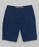 Micros Navy Backlash Shorts - Boys