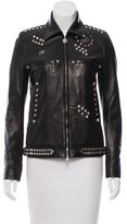 Balmain Studded Leather Jacket