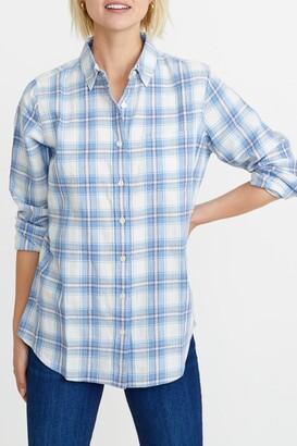 Marine Layer Drea Plaid Flannel Shirt