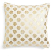 Levtex Gold Polka Dot Pillow
