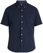 Polo Ralph Lauren Short-sleeved cotton-seersucker shirt