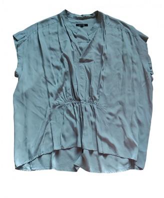 Pas De Calais Green Cotton Top for Women