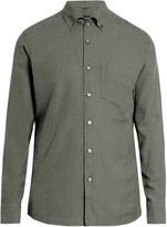 Ermenegildo Zegna Long-sleeved cotton button-cuff shirt
