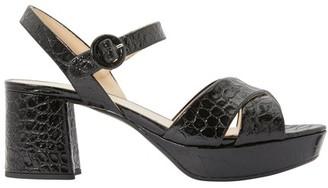 Prada X Strap Sandals