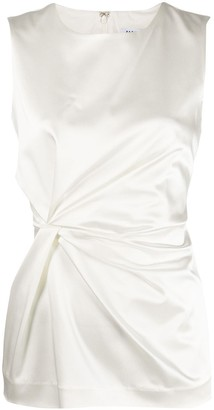 P.A.R.O.S.H. Ruched Sleeveless Top