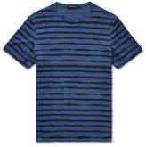 Ermenegildo Zegna Striped Linen-Jersey T-Shirt