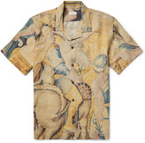 Dries Van Noten - Carlton Camp-collar Printed Linen Shirt
