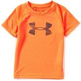 Under Armour Little Boys 2T-7 Speedlines Big Logo Short-Sleeve Tee