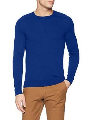 Benetton Men's Basico 1 Man Long Sleeve Top,Large