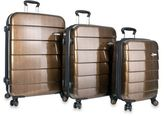 Heys Cronos Elite 3-Piece Upright Spinner Set in Bronze