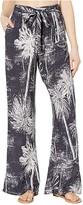 Maaji Moonbeam Kiss Pants Cover-Up (Washed Black Palm) Women's Swimwear