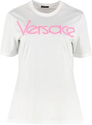 Versace Crew-neck Cotton T-shirt