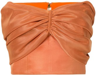 Bambah Cropped Strapless Top