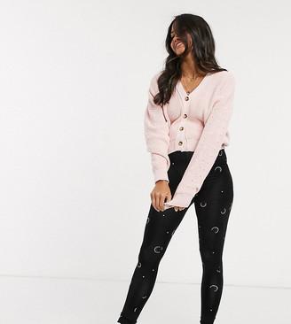 ASOS DESIGN Maternity exclusive legging in moon print