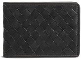 Trask Men's Woven Leather Wallet - Black