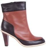 Karine Arabian Brown Maia Bis Ankle Boots