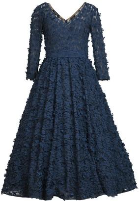 Matsour'i Cocktail Dress Jasmin Dark Blue