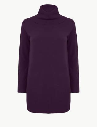 M&S CollectionMarks and Spencer Cashmilon Cowl Neck Jumper