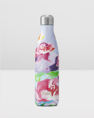 Swell Brown Water Bottles - Insulated Bottle Water Colour Floral Collection 500ml Lilac Posy - Size One Size at The Iconic