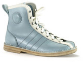 Swedish Hasbeens Vintage Bowling Boot Blue White