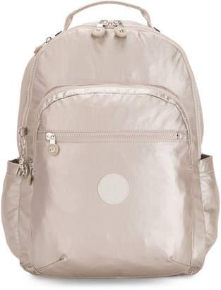 """Kipling Seoul Extra Large Metallic 17"""" Laptop Backpack"""