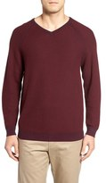 Tommy Bahama 'Make Mine a Double' Reversible Pima Cotton V-Neck Sweater