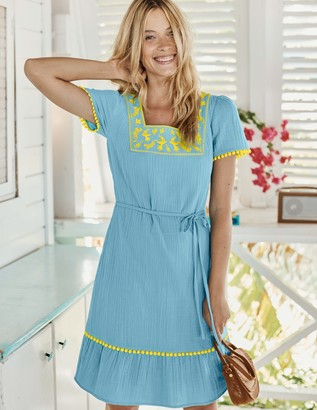 Bernadette Embroidered Dress