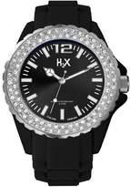 Haurex H2X Women's SS382DN1 Reef Stones Luminous Water Resistant Soft Rubber Watch