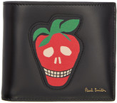 Paul Smith Black Strawberry Skull Wallet
