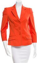 Versace Long Sleeve Blazer