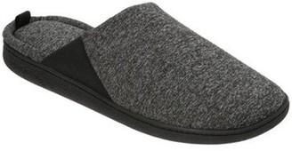 Dearfoams Womens Stephanie Knit Closed Toe Scuff Slippers