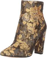 Jessica Simpson Women's Teddi Ankle Boot, Multi Metallic Floral Brocade