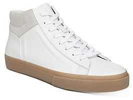 Vince Men's Fynn Leather High-Top Sneakers