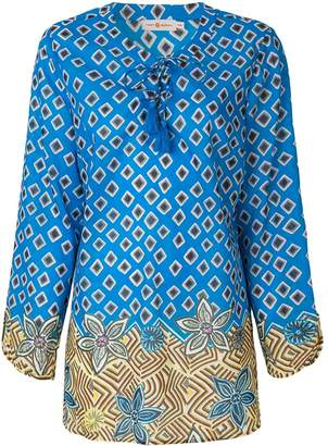 Tory Burch geometric print tunic