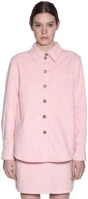 Baum und Pferdgarten Min Cotton Velvet Ribbed Shirt