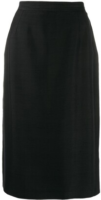 Valentino Pre Owned 1980's Pencil Skirt