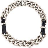 Balenciaga Lace Chain Leather Necklace