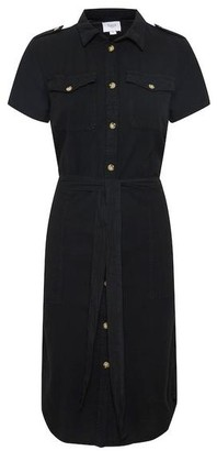 Saint Tropez Kate Utility Dress Black - L