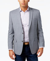 Andrew Marc Men's Classic-Fit Gray/Blue Check Sport Coat