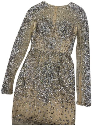 ZUHAIR MURAD Beige Synthetic Dresses