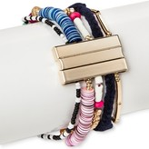 Women's Multi-row Bracelet with Magnetic Closure
